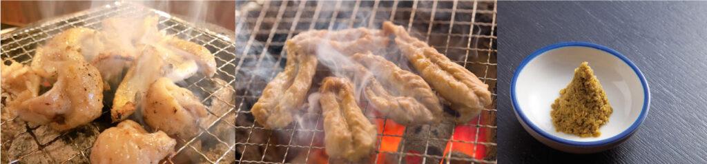 とりとんメニューの鶏肉画像
